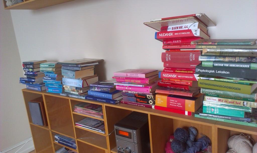farvekoodinerede bøger